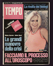 TEMPO 3/1972 LICEO CASTELNUOVO ROMA DISNEYLAND CORRIGAN 007 BOND FILM PUBLICITY