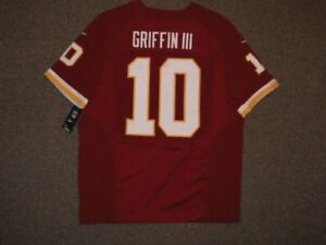 1778a72a7e3 Image is loading Robert-Griffin-III-Washington-Redskins-Maroon-Authentic-NFL -