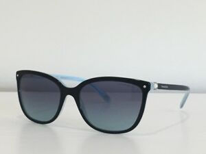 57ed7125571 15 Tiffany   Co. TF 4105-H-B 8193 9S Black Gray Gradient Sunglasses ...