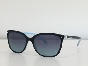 cfead0d4061 15 Tiffany   Co. TF 4105-H-B 8193 9S Black Gray Gradient Sunglasses ...