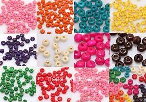 1000pcs-Wood-Seed-Findings-Spacer-Beads-4x3mm-For-Diy-Bracelet-U-Choose-Color
