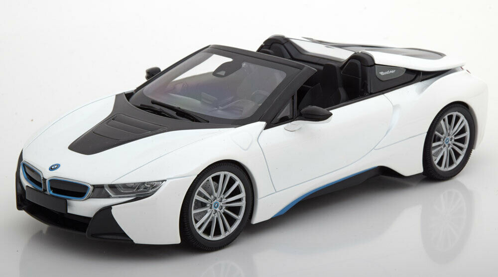 Minichamps 2017 BMW I8 Roadster Weiß 1 18 Maßstab Neue Auflage  Le Of 504