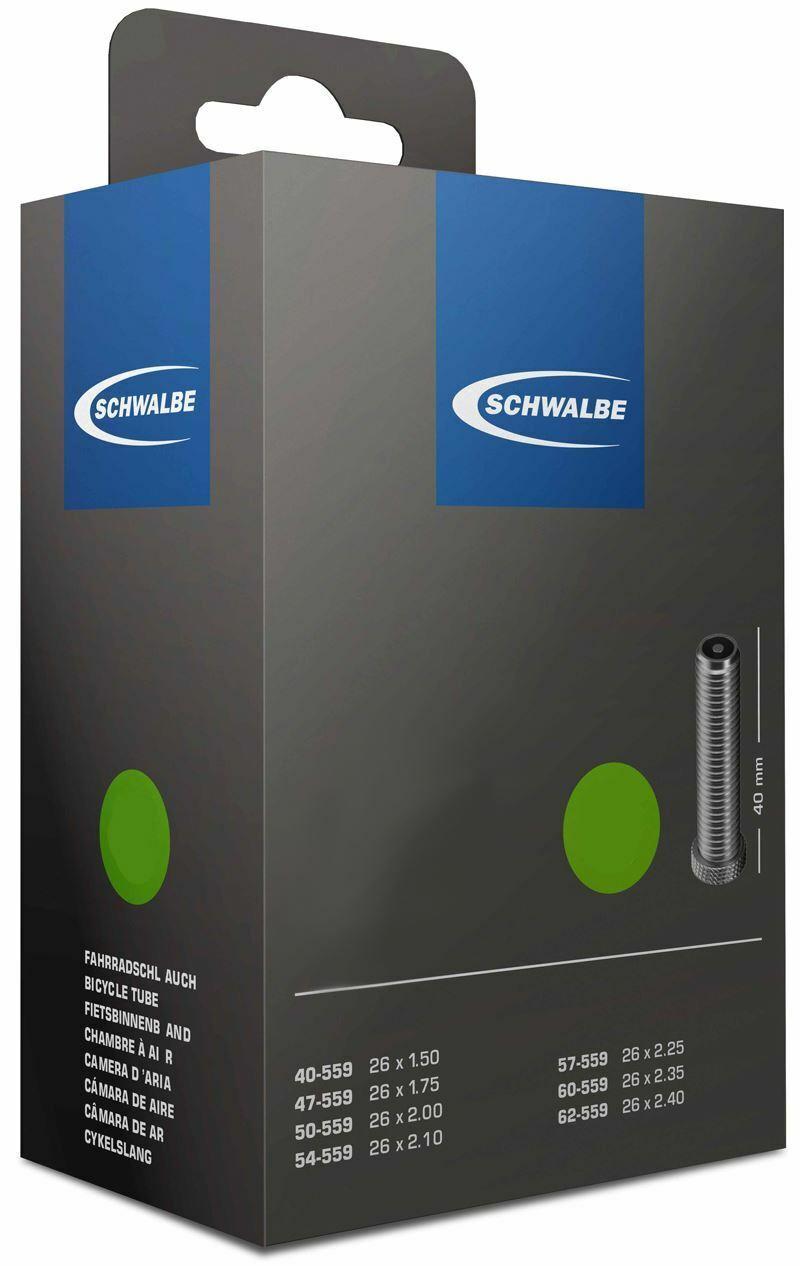 IMPAC CYCLE INNERTUBE  28 x 1.5 SCHWALBE 40mm PRESTA QUANTITY OPTION