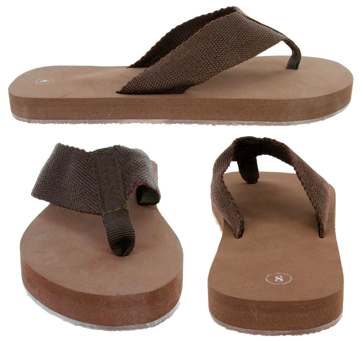 Gino-2 Womens Flip Fashion Platform Flip Womens Flop Sandals, 3/4