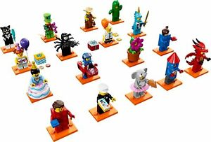 Lego-Minifigure-Figurine-71021-Series-18-Collector-40-Ans-Choose-Minifig-NEW