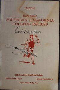Louis-Zamperini-d-14-POW-Unbroken-Autographed-Signed-1940-USC-Program