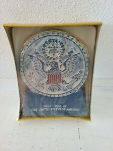 Vintage America's Heritage Candle Great seal of the United States of America