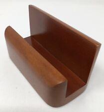 Rolodex Wood Tones Business Card Holder Wood Mahogany Rol23330