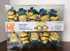despicable me glowing minion 11 feet indoor outdoor christmas string light set