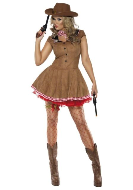 Fever Wild West Cowgirl Costume Small