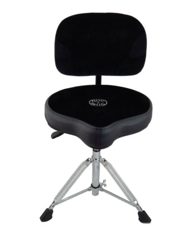 Black Roc-N-Soc NROK Nitro Drum Throne w// Saddle Seat /& Matching Backrest