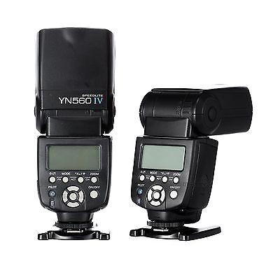 YONGNUO YN-560 IV Wrieless Speedlite Flash for Canon Nikon DSLR YN-560 III UK
