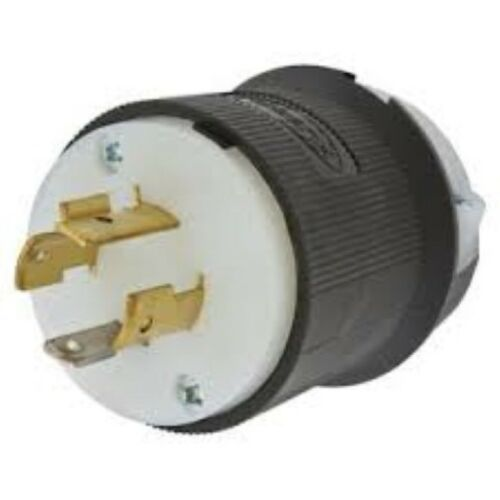 Hubbell HBL2411 20A 120//250 Volt L14-20P Heavy Duty Industrial Commercial Plug