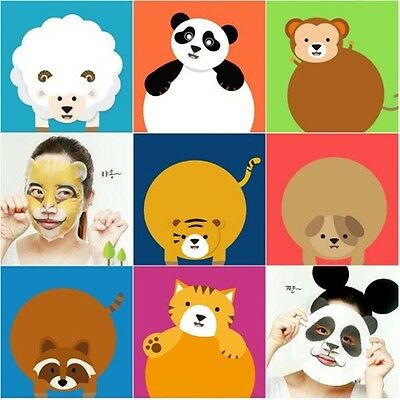 Berrisom Animal Face Mask Sheet Pack 7 Series 10PCS Korea Cosmetic