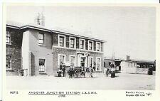 Railway Postcard - Andover Junction Station L. & S.W.R. c1906  V443