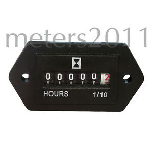 Hour Meter Generator Or Any 120 Volts Ac 60 Hz Ebay