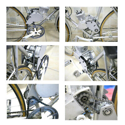 CNC SILVER 415 CHAIN TENSION FOR 66CC 80CC MOTORIZED BIKE.