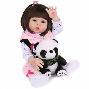 Realistic-Reborn-Baby-Girl-Dolls-18-034-Lifelike-Vinyl-Silicone-Newborn-Dolls-Gift