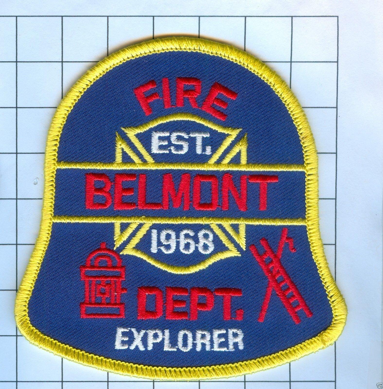 AMHERST NEW YORK NY EXPLORER FIRE PATCH