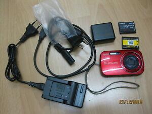 Casio EXILIM ZOOM EX-Z1 10,1 MP Digitalkamera -ROT