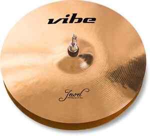 13-034-Vibe-Jewel-Brilliant-Thin-Hihat-Becken-Cymbal-B20-mit-Zertifikat