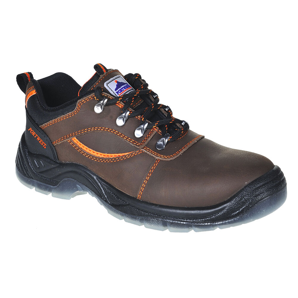 Portwest Mens Steelite Mustang Shoe S3 Brown Various Size FW59