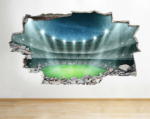 Image Is Loading A135 Football Stadium Boys Bedroom Wall Decal Poster  Part 59