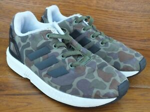 adidas ZX Flux Camouflage Trainers Size