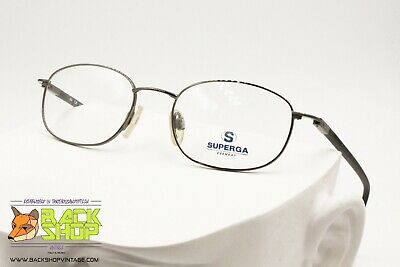 Superga Su057 C10 48[]18 140 Eyeglasses Frame Men, Made In Italy, New Old Stock Sapore Aromatico