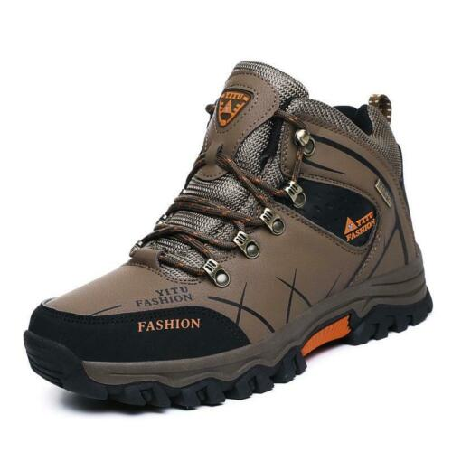 Mountain Warehouse Mens Ankle Boots Hiking Walking Outdoor Fur Lined Trainers