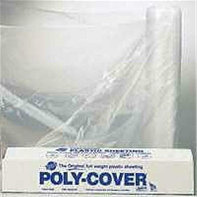 Husky Plastic Sheeting Clear 4ml 12ft X 100ft for sale online