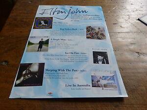Elton-John-Pubblicita-di-Rivista-Pubblicita-Discography-Nuovo