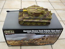 Forces of Valor 1:24 Tiger 1 Infrared IR Combat R/C Tank by Waltersons *New*