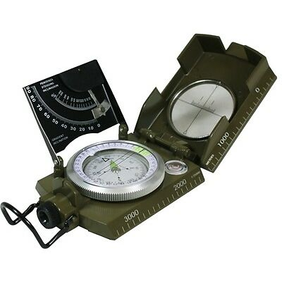 Compas Militar con CLINOMETRO - Italiano Senderismo
