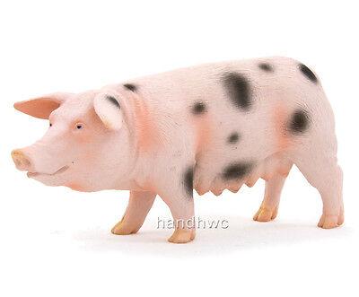 Mojo Fun 387092 Spotted Sow Pig / Hog - Realistic Farm Animal Toy Replica - NIP