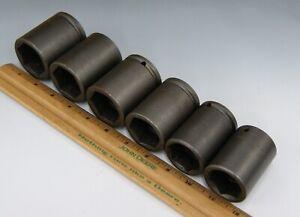 Apex-Tools-Industrial-Impact-1-2-034-Drive-Socket-Set-6-1-3-16-034-1-1-2-034-L-2697