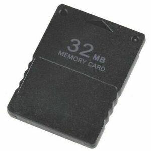NEU-Memory-Card-fuer-Playstation-2-PS2-Normal-Slim-32MB-Speicherkarte-Z34