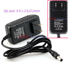 12V 1A AC/DC LED Power Supply Cord Adapter Charger Compatible Router ADSL Cat US