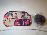 Avon Womens Ladies Naturals Canvas Bag Sponge Case Cosmetic Bag F3498481 New;;