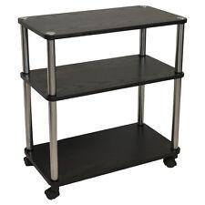 Mobile Printer Cart Utility File Office Rolling Caddy Organizer Rack Laptop  Stan
