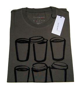 T-Shirt-Maglietta-Calvin-Klein-Uomo-Maniche-Corte-Girocollo-Men-T-Shirt-Crew-Nec