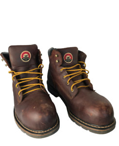 Red Wing Irish Setter Work Boots Safety Toe Slip Resistance 83604 Size 13