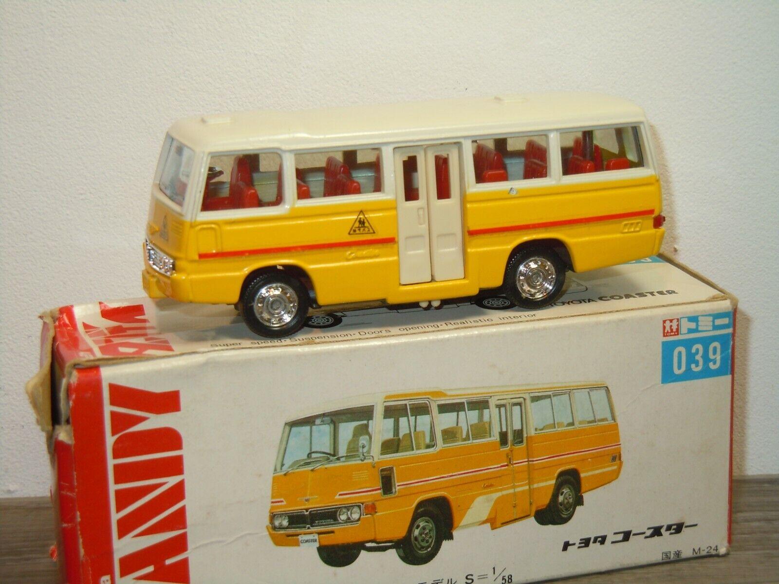 Toyota Coaster - Tomica Dandy 039 Japan 1 58 in Box 36677