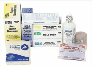First Aid Kit Refill, First Aid, 165 pcs. - 6095G