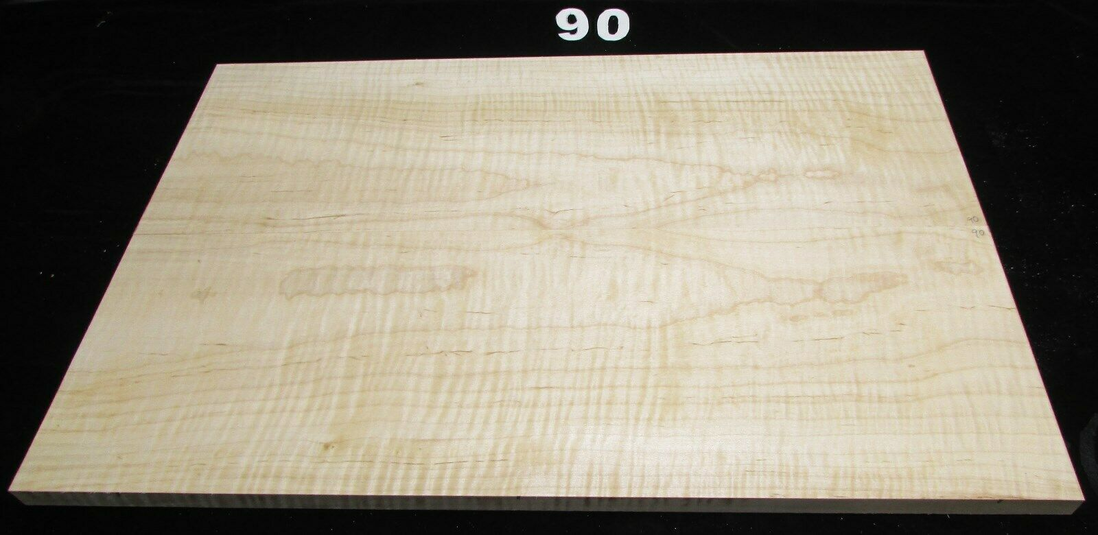 T619-90 Curly Maple Guitar Top Sets