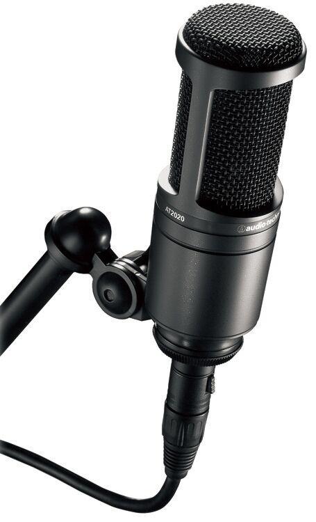 Audio-Technica Value Studio Microphone, AT2020, Brand NEW