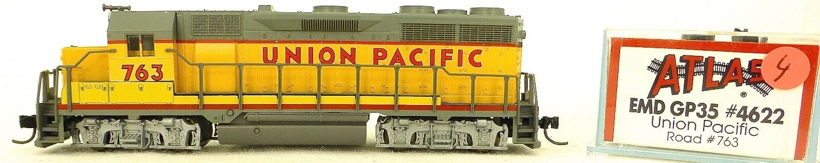 Atlas 4622 Kato EMD gp35 Union Pacific 763 Diesel Locomotive N 1 160 ω04 å