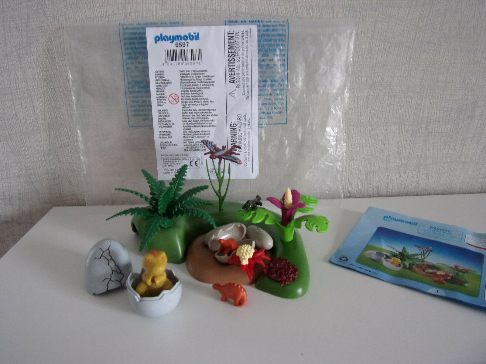 Playmobil Additions & Accessories - 6597 6597 6597 Dino-Babys in Nest - New 32e47a