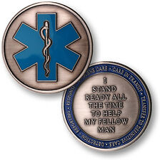 Emergency Medical Services - EMS Challenge Coin
