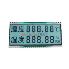 Gdc03849 Double Row Segment Temperature Humidity Display Lcd 33v 14 Duty